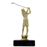Golffigure woman