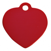 Dog and cat tag heart